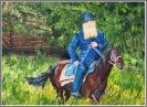 Монах на коне